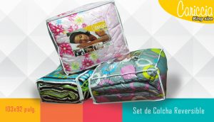 SET COLCHA KING SIZE